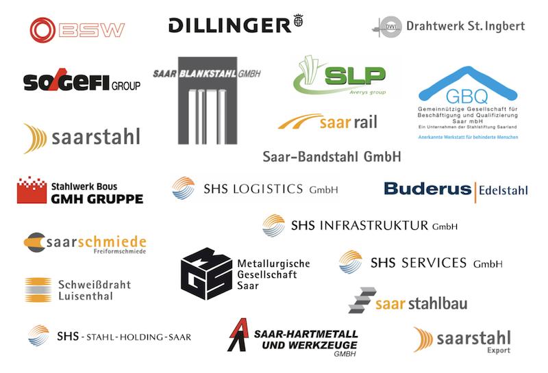 Logos Mitglieder Verband der Saarhütten
